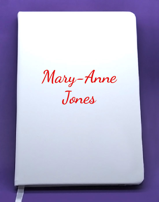 Personalised4u note books